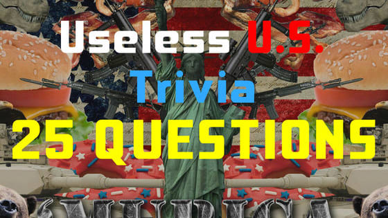 You won't know until the end of these 25 questions, so  prove it with your True/False skills!