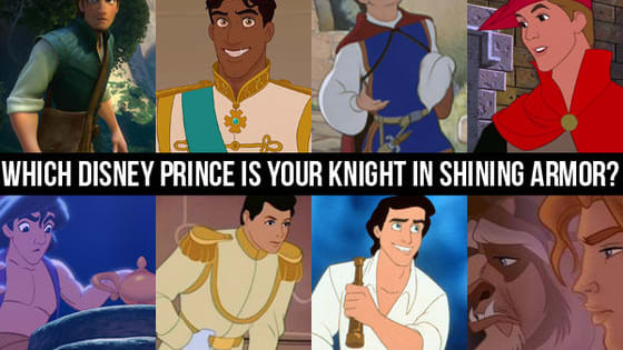 Disney princes have a reputation for being handsome, kind and brave- but which prince is right for you? Answer a few simple questions to find your answer!
