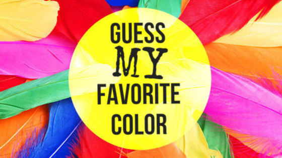 Can we guess your favorite color in 2 questions?