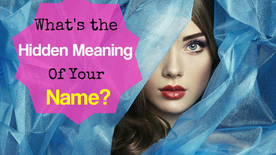 What does your name really say about you?