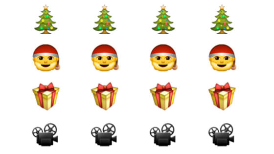 Here's a challenge: Can you identify these Christmas-themed movies in emoji form?