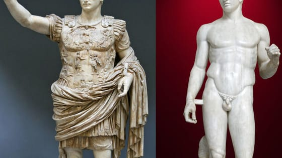 This quiz will determine whether you would be a greek or roman artist.