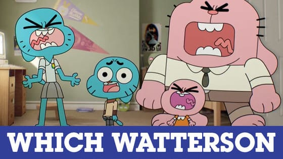If you were part of the Watterson family, which one of them would you be? Find out now! For more superfans, exclusive videos, free games and more go to cartoonnetwork.co.uk