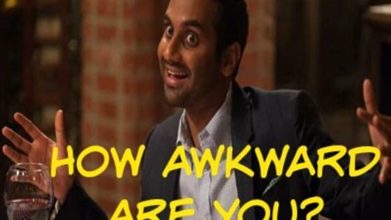 """In Aziz Ansari's new Netflix show, his character Dev is experiences many awkward moments that ring very true to all of us.  Choose """"yes"""" or """"no"""" if you've experienced these situations and find out if you're the Master of Awkward!"""