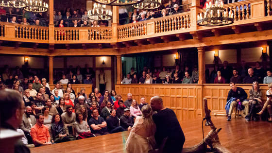 Can you tell the difference between William Shakespeare's THE TEMPEST and John Fletcher and Philip Massinger's THE SEA VOYAGE?  Whether or not you pass the test, come see both these works on stage the American Shakespeare Center in Staunton, VA.