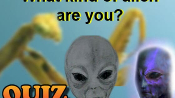 There are at least 30 known alien species that have been seen visiting Earth. Each of these races have different traits. Take the quiz to find out what Alien race you are closest to, then ask your friends to do the same. Be warned they might not be what you except them to be! Information for this quiz comes from the new book 'Black Ops, Aliens, Spirits, Bigfoot and our untold History' available on Amazon, Kindle and Kindle unlimited. www.ouruntoldhistory.com