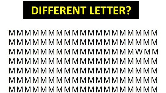 It's not as easy as it looks... these letters can be tricky!