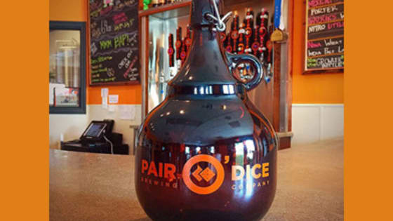 The 64oz growler is finally legal in Florida! Find out which Pair O' Dice Brewing beer you should fill it with and #GetAPair this week.
