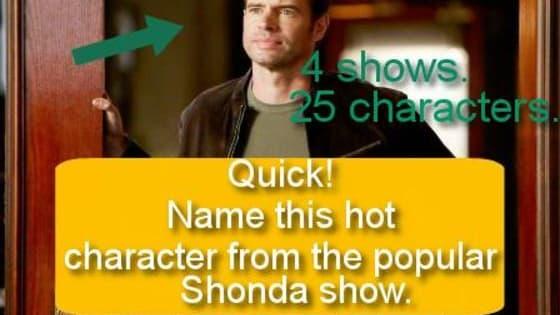 Careful, Shonda's watching...