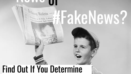 Part of living in 2018 means learning how to decipher between news and #Fakenews. That prominent people in multiple facets of society seem to have trouble with this as well can make it seem a daunting task for your average citizen. This test will be a good barometer of your ability to separate the fake news from the real.
