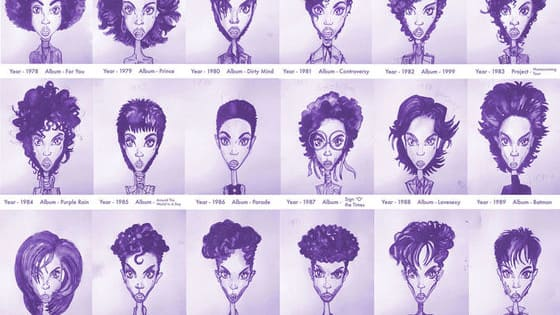 Prince was no stranger to evolving with the times. as this wonderful tribute art shows.