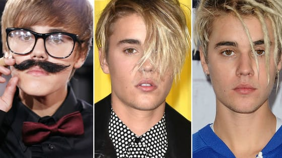 JB has had some major hair transformations throughout his career.  UPVOTE the style you beliebe is the most ourgragous!