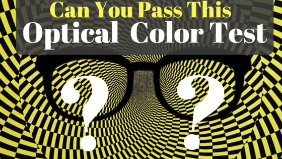 Did you know we're all born with and develop different subconscious preferences? Take a look at these optical illusions and find out what your own brain's color preference is.