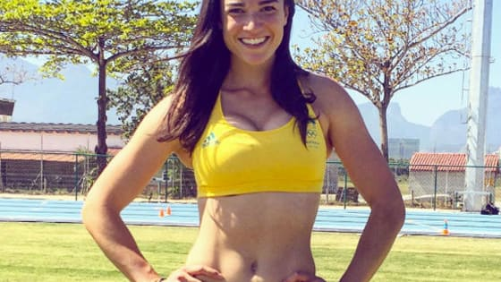 The Australian hurdler rose to fame with a sexy warm-up dance in 2012. But some fans think she's since augmented her curves...