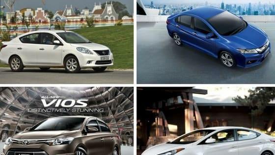 Sedan hạng B chọn xe nào trong 4 chiếc dưới đây?