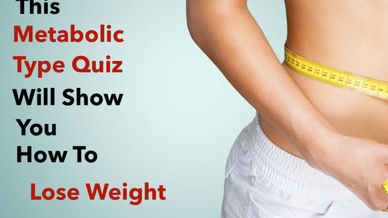 Weight loss is a daily struggle. Why is that some people are skinny and some people are fat? It turns out...we're all built differently and therefore need to follow different diets in order to lose weight and gain optimal health. According to Dr. Oz, there are three metabolic types. Which one do you fall under? A...B...or C? Find your optimal diet and lose weight for good. Take this quiz to find out!