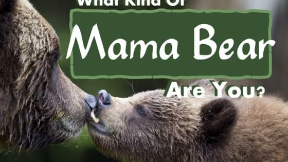 Are you more of a cuddly Panda mom, or a fierce grizzly mum?