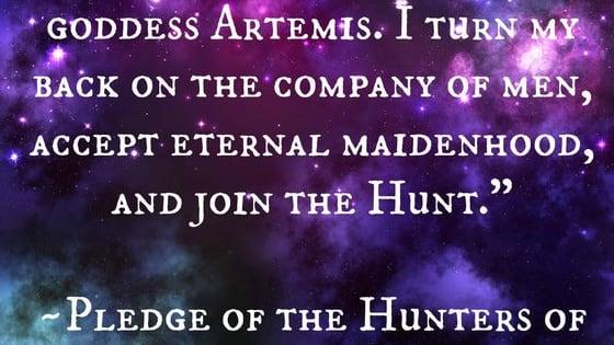 Are you more like Artemis's followers or Otrera's?