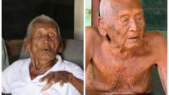 Mbah Gotho of Indonesia has a birth certificate proving that he's 145 years old, he wishes he weren't.