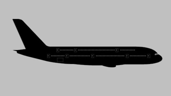 Can you guess an aircraft type purely by its silhouette?