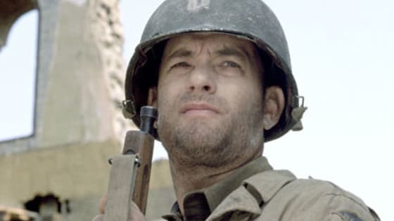 Can you name the character Tom Hanks is playing in the pictures provided?