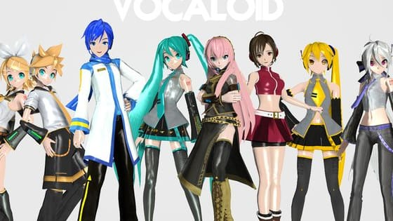 The Vocaliods in this quiz are all Japanese.   Vocaloids are singers that aren't real, they are a computer programe that can sing and dance