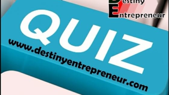 We all have entrepreneurial skills which are not always apparent to us. Take this short quiz to determine how successful you would be as an entrepreneur. Brought to you by: Destiny Design Blog http://carlosbatista.go-online-today.com