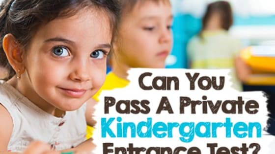 Several elite, NYC private schools will soon require 4 year-olds to take a new, harder, iPad administered entrance exam. Take our quiz based on the original and see if you're smarter than a kindergartner. Surely it can't be that hard... right? Coutesy: BrightKids NYC