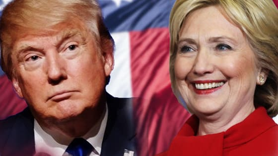 Clinton or trump? Thats the question