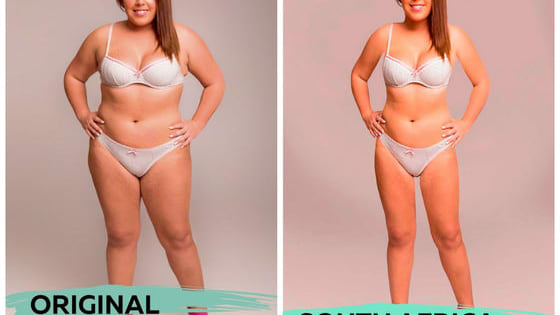 One model wanted to do an experiment to see what the differences are in beauty standards worldwide, so she sent a photo of herself to Photoshoppers in 18 countries, and these are the unbelievable results.