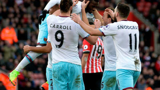 Test your knowledge with our ten questions on West Ham United v Southampton!