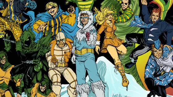 The DC universe is full of rouges from Captain Cold to Mirror Master. Which one are you?
