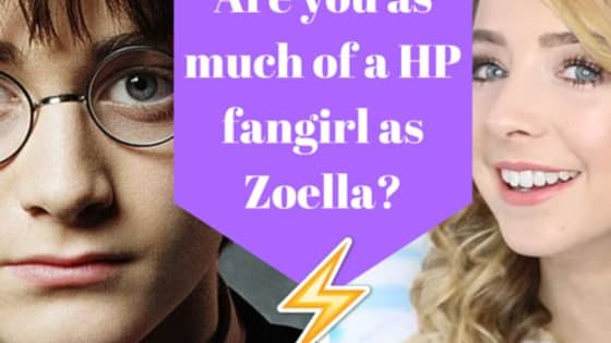 Zoe loves 'Harry Potter,' like a lot. But do you love it just as much as her, or is your love a little more muted?