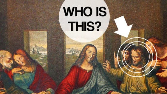 You've probably seen this Leonardo da Vinci's masterpiece dozens of times, but do you really know who is who?