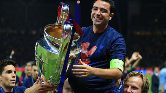 If you don't love Xavi then we really can't help you...