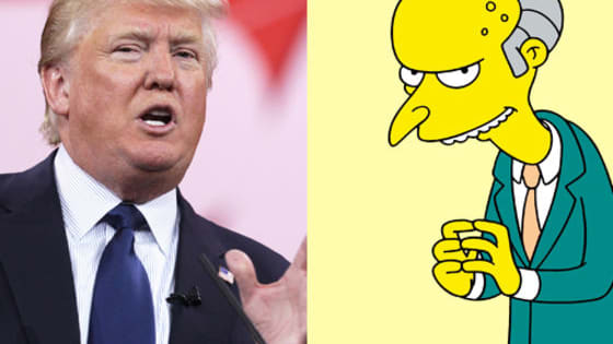"Mr. Burns, Springfield Nuclear Power Plant owner on ""The Simpsons,"" and Donald Trump, real estate tycoon/presidential candidate, are low on filters, high on capitalism, and hell-bent on domination. Can you tell them apart?"