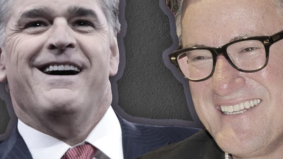 Trump fans Sean Hannity (of Fox News) and Joe Scarborough (of MSNBC) have been feuding on Twitter -- but can you tell their praise for Donald Trump apart?