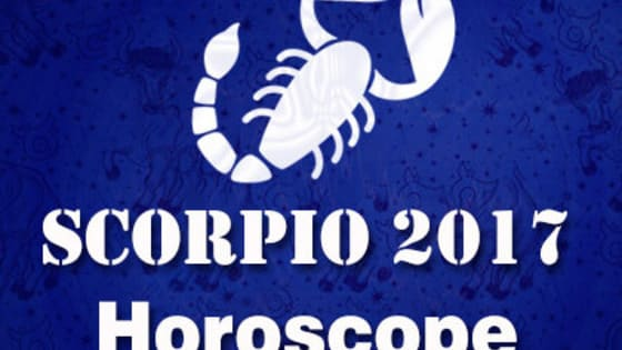 Find free annual 2017 Horoscope predictions forecasts for Scorpio zodiac sign all about detailed married life, health, love and relationships, family and friends in 2017.