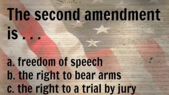 Do you actually remember the Bill of Rights?