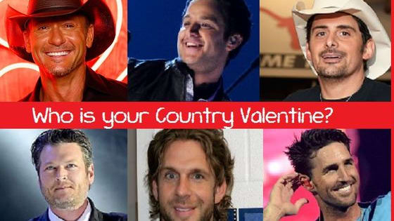 Hey, even the hottest guys in country music need dates for Valentine's Day. Help a hottie out, will ya?