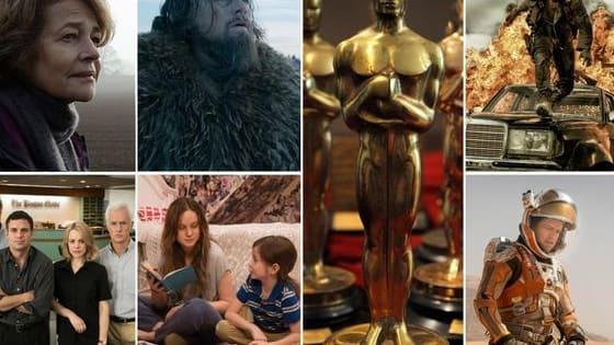 Consider yourself a film buff? Find out the truth! How many of these 2015 Academy Award nominated films have you seen?