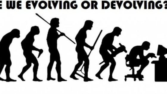 As a species, its hard to know whether we're heading for enlightenment or just apes with smartphones. Where do you fit in on the evolutionary scale?