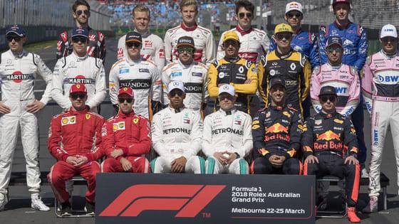 Check je kennis van de 2018 F1-grid!