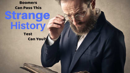 It turns out some of what we learned about history in school was incorrect. Take this quiz to see if you can pass this Strange History quiz.