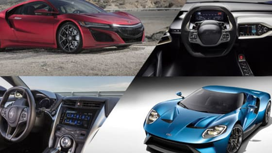 Which high-dollar exotic car would YOU rather own, the Acura NSX or Ford GT?