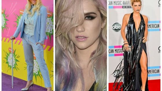 Ke$ha has had some truly, amazingly ridiculous looks over the years. We've narrowed it down to just seven of our all-time faves.