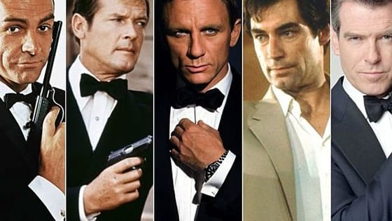 Sean Connery, George Lazenby, Roger Moore, Timothy Dalton, Pierce Brosnan or Daniel Craig? Vote for the best 007 actor.