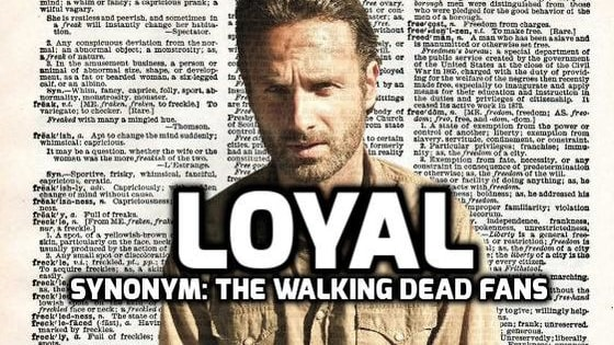 Wanna know why The Walking Dead fans are better than yours?