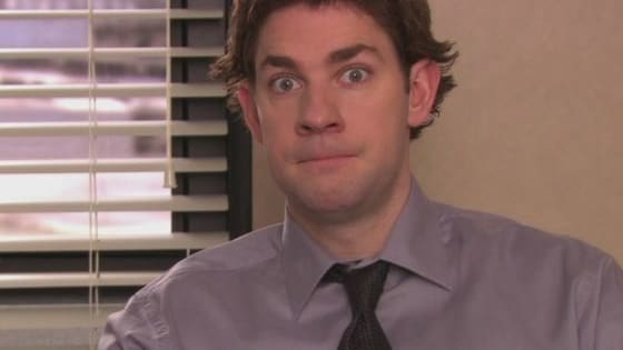 There's a reason John Krasinski's character is famous for his stares.