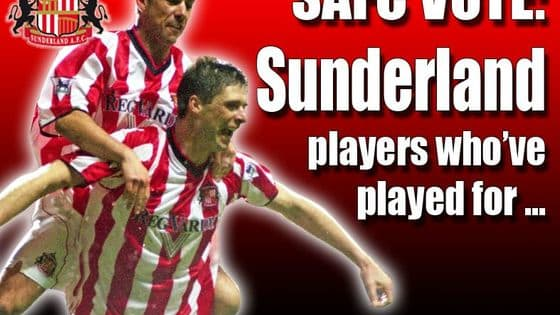 Of the 10 players who we've selected - who have played for or represented both Sunderland and Derby County over the years - who is your favourite? Cast your vote now! (top right of player profile) Some good, some bad, but some did make an impact on Wearside.  Other names to have links with both clubs are: Russell Anderson, Rory Delap, Danny Dichio, Alan Durban, Alan Stubbs, Colin Todd, Danny Graham, Mick Harford, Danny Higginbotham, Johnny Hannigan, Rob Hindmarch, Tommy Smith, David Swindlehurst, Stern John, Chris Makin, Ryan Noble, Lewin Nyatanga, John O'Hare, Jon Stead, Paul Thirlwell and Emerson Thome, to name but a few.   Also, do you have any memories of players who have turned out for both clubs, please share.